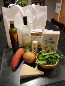 Rosotto Ingredients